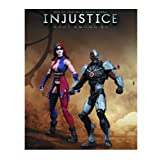 Harley Quinn vs Cyborg Injustice DC Comics Unlimited 2 Pack Action Figure
