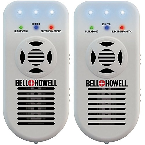 (Set/2) Bell+Howell Ionic Pest XL: Air Purifier, Pest Repeller, & Nightlight