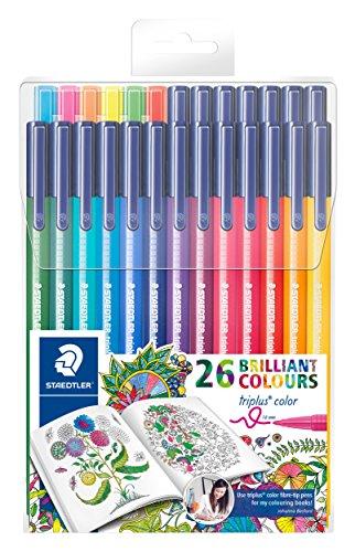 staedtler-323-tb26jb-filzstifte-triplus-color-set-mit-26-sortierten-farben-exklusive-johanna-basford