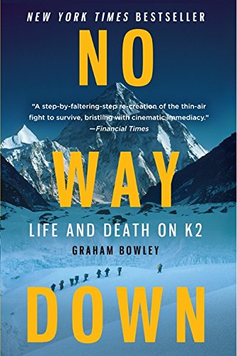 No Way Down: Life and Death on K2 Book Cover
