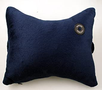Vibrating Animal Neck Pillow : Amazon.com - Lily s Home Vibrating Neck / Headrest Pillow Massager. Battery Operated, Soft ...