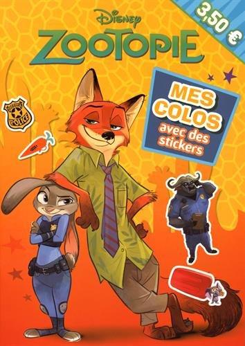 Zootopie, mes colos avec stickers