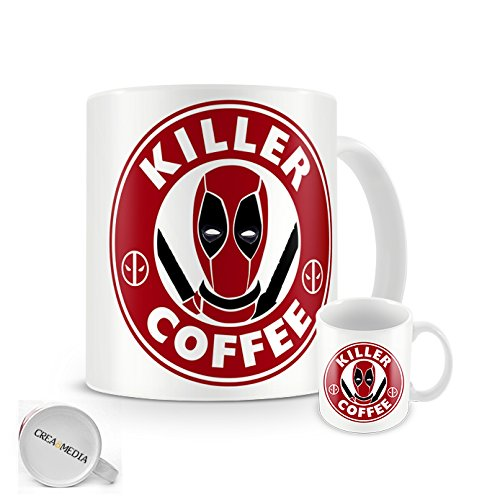 Deadpool-Killer tazza di caffè Starbucks, per caffè, Comics, 11 oz
