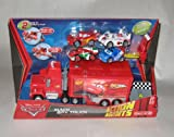 Disney Pixar Cars Mack Spy Truck Vehicle Playset with 4 Small Cars and 2 Accessories
