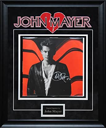 john mayer signed battle studies album insert at amazon 39 s entertainment collectibles store. Black Bedroom Furniture Sets. Home Design Ideas