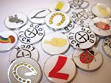 20 Assorted Good Luck Geotokens Geocoins Lucky