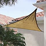 ShelterLogic 25721 16'x16'x16' Triangle Sand Sun Shade Sail