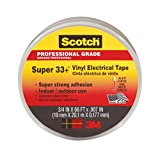 3M COMPANY 6132-BA-100 Plastic Electrical Tape, 3/4-Inches x 66-Feet, Black