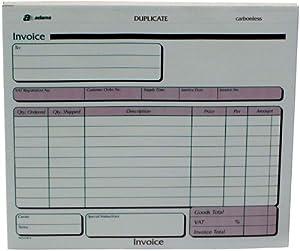 Pukka Pad, Invoice Duplicate Sets 191 x 212mm