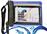 MiTAB Blue Waterproof Case / Cover For 10 Inch Tablets Including The Acer Iconia Tab A510 / Acer Iconia Tab A700 / Acer Iconia Tab A200 / A210 / A211 / Acer Iconia W500 /w510 / Acer Iconia W510 / W511 / Acer Iconia A3