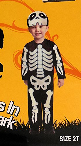 Glow Toddler Skeleton Halloween Costume 2T
