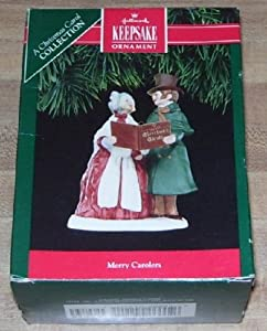 Hallmark Keepsake Ornament 1991 Merry Carolers A Christmas Carol Collection
