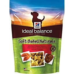Hill\'s Ideal Balance Soft-Baked Naturals with Beef & Sweet Potatoes Dog Treats, 8 oz bag