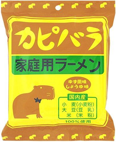 小笠原製粉 カピバララーメン(ゆず風味しょうゆ味) 90g×12個
