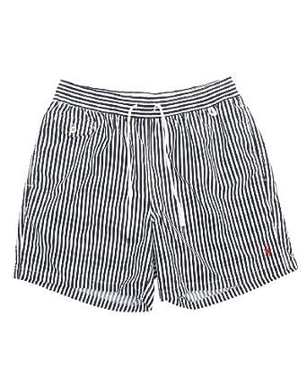 POLO Ralph Lauren - Shorts de bain - Homme - Maillot de Bain Rayé Classic Bleu - M