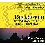 "Symphonie N°1 - Symphonie N°3 ""Héroïque"""
