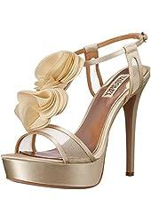 Badgley Mischka Women's Flora Platform Sandal