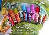Disney Fairies 10 Pack Roll-on Lip Gloss