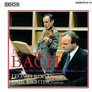 J. S. Bach: 6 Sonaten Fur Violine Und