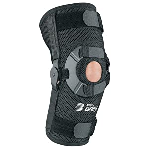 Breg PTO Airmesh Soft Knee Brace with Open Back (Small Left) by Breg