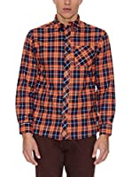 THE INDIAN FACE Camisa Hombre (Naranja)