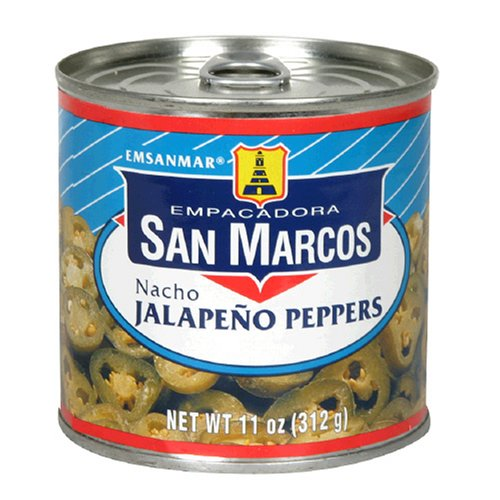 Buy Empacadora San Marcos Nacho Jalapeno Peppers, 11-Ounce Cans (Pack of 12)