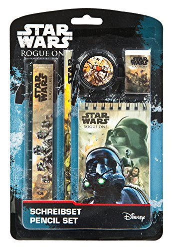 Undercover swro0210-Set per scrittura, Disney Star Wars Rogue One, 5pezzi
