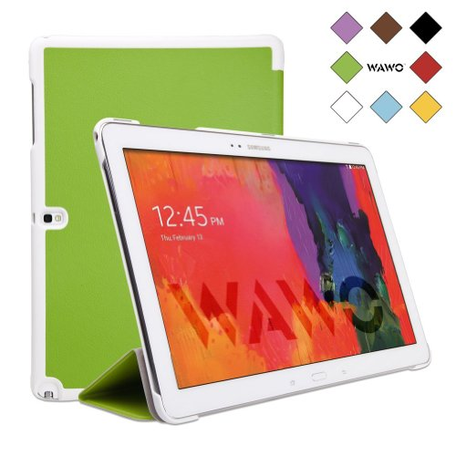 Wawo Samsung Galaxy Note & Tab Pro 12.2 Tablet Smart Fold Case Cover - Green