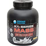 Infotech Nutritions K-1Series Mass Powder- 6 LB/2.72 KG, Chocolate/Vanilla