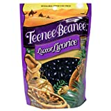 Teene Beanee Luxor Licorice Jelly Beans, 8.5-Ounce Bags (Pack of 12)