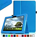 Fintie Folio Case for ASUS MeMO Pad FHD 10 ME302C / MeMO Pad Smart 10'' ME301T Tablet Slim Fit With Auto Sleep / Wake Function - Blue