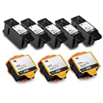 NUINKO 8 Pack Compatible Kodak 10 Ink...
