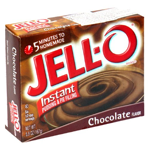 Buy Jell-O Instant Pudding & Pie Filling, Chocolate, 5.9-Ounce Boxes (Pack of 24) (JELL-O, Health & Personal Care, Products, Food & Snacks, Baking Supplies, Pie & Cobbler Fillings)