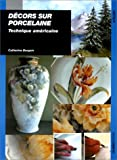 img - for D cors sur porcelaine. Technique am ricaine (French Edition) book / textbook / text book
