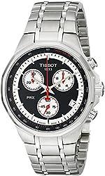 Tissot Men's T0774171105101 T-Classic PRX Analog Display Swiss Quartz Silver Watch