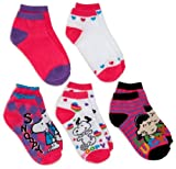 Peanuts Girls 7-16 Girls Snoopy 5 Pack Socks