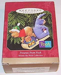 1999 Hallmark Keepsake Ornament Presents From Pooh