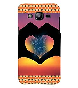GADGET LOOKS PRINTED BACK COVER FOR SAMSUNG GALAXY J2 MULTICOLOUR