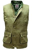 Derby Tweed Bodywarmer Gilet Waistcoat Hunting Shooting by WWK / WorkWear King