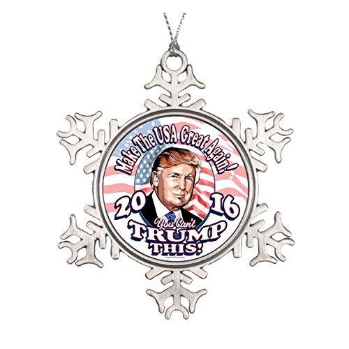 You Can't Trump This Trump 2016 Ceramic Round Christmas Ornament