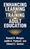 img - for Enhancing Learning in Training and Adult Education (Technology Series; 15) by Ronald R. Morgan (1998-02-24) book / textbook / text book