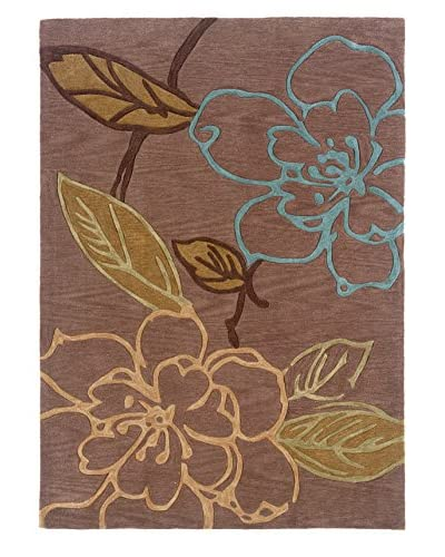Linon Home Décor Trio Collection Space Dyed Rug