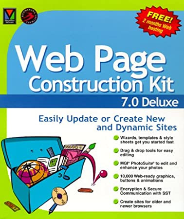 Web Page Construction Kit 7.0 Deluxe