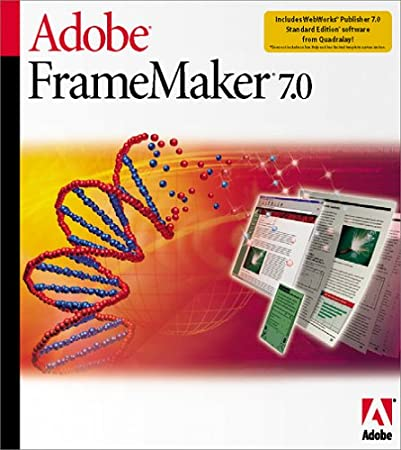 Adobe FrameMaker 7.0 [Old Version]