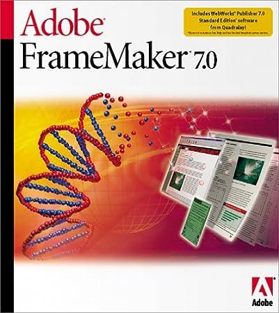 Adobe FrameMaker 7.0 [Old Version]
