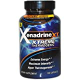 Xenadrine XT Xtreme Thermogenic Fat Burner Weight Loss Pills For Men and Women With Green Coffee Bean Extract Formula, 130 Capsules