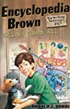 img - for Encyclopedia Brown Solves Them All (Turtleback School & Library Binding Edition) (Encyclopedia Brown (Pb)) book / textbook / text book