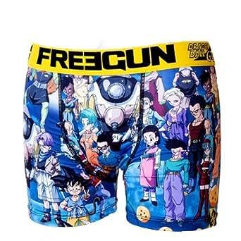 Freegun - Sous-vêtement homme -Freegun boxer homme premium DBZ - DBGT (M)