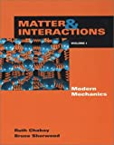 img - for Matter and Interactions I: Modern Mechanics book / textbook / text book