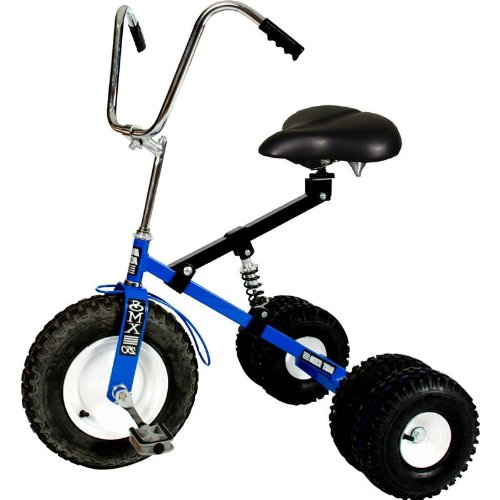 Dirt King Big Kid Dually Tricycle BLUE